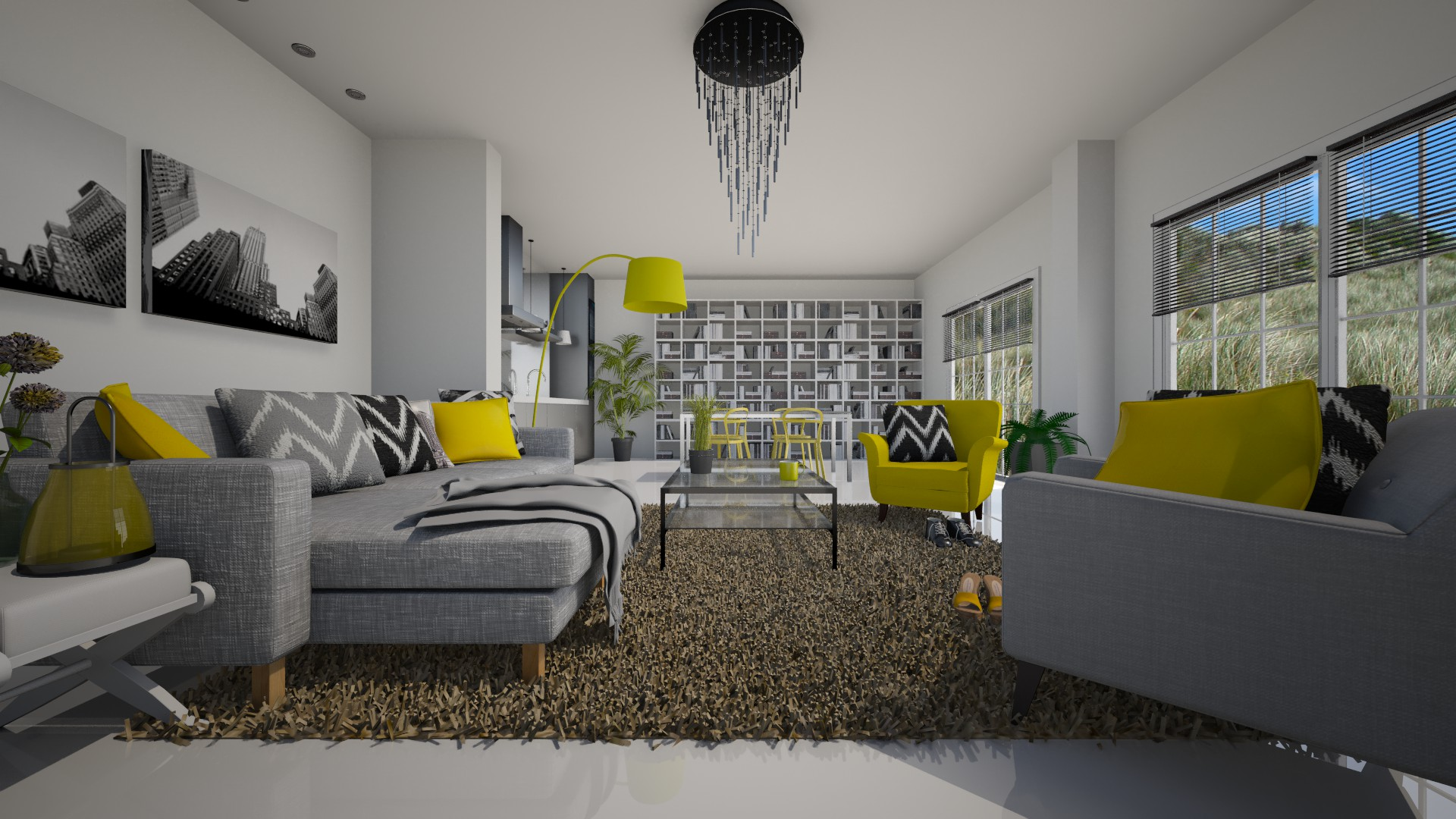 Fresh Living Room Contest On Roomstyler