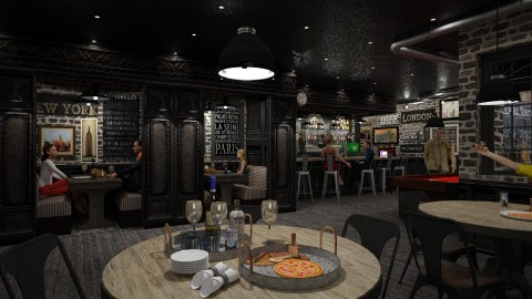 Dark Pub - by crosette