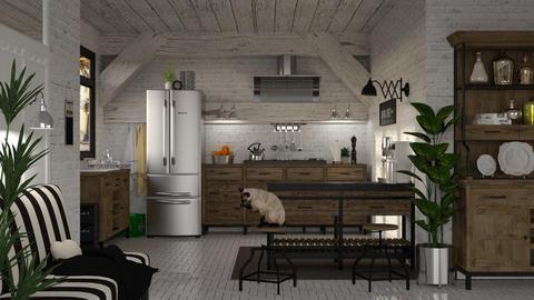 In the Kitchen - by Artem Vivendi