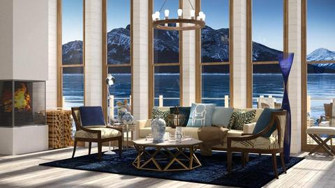 Cerulean Boat Estate - Modern - Living room - by Lifandus