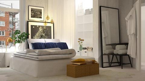 Winter Bedroom - Bedroom - by indira Massekele