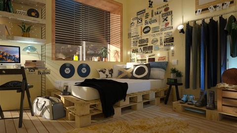 Teen Room - Bedroom  - by Chad_dp