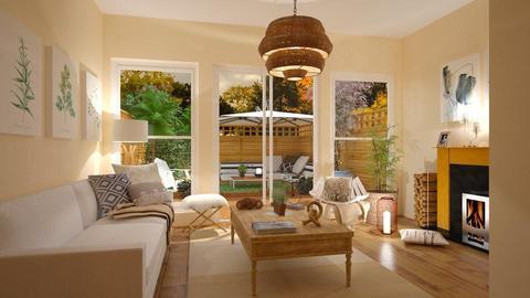 Garden template - Living room - by Roberta Coelho