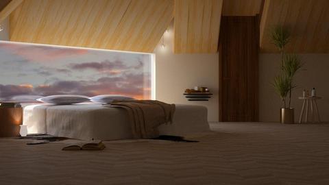 HARING OAK - Bedroom - by shahr