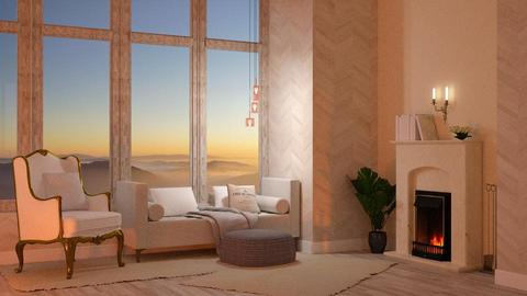 Template Baywindow Room - Living room - by Twilight Tiger