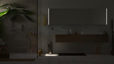 Jinsei - Minimal - Bathroom - by shahr