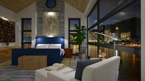 Buddha at bay - Modern - Bedroom - by russ