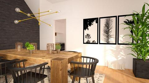 Black frame - Dining room  - by Inna_Inas