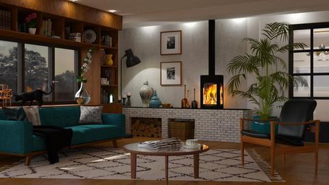 Mid Century Livingroom - Vintage - Living room - by Mandine