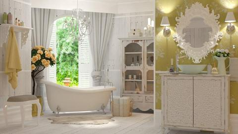 Shabby Chique - Bathroom - by Valkhan