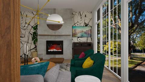 Woodhouse 2 - Living room - by louisdhe