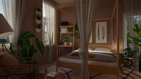 urban jungle - Bedroom - by Liu Kovac