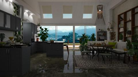 Urban Kitchen - Modern - Kitchen - by janip