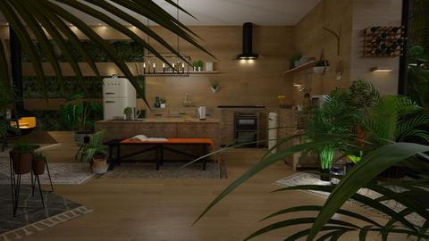 jungle kitchen - by paradise look
