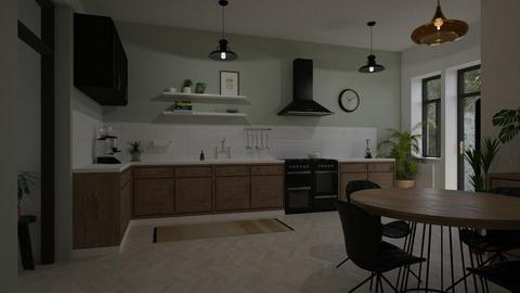 Urban Jungle  - Kitchen - by marleinxs