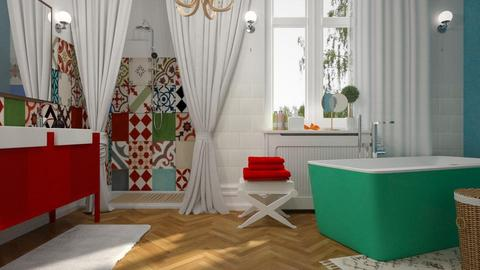 Eclectic bagno - Bathroom - by rossella63