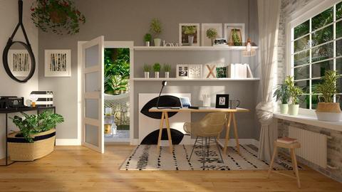 Urban Jungle Office - by ariema