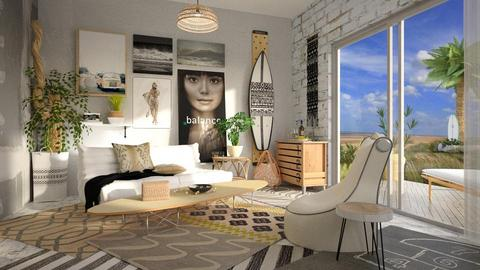 Low Tide - Eclectic - Living room - by starsector