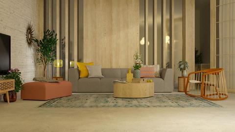 Colums - Living room  - by Alda Neziri