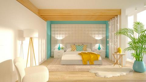 Modern Playful Bedroom - Kitchen - by Vlad Silviu