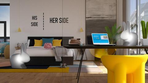 Fun - Bedroom  - by aniachoynowska
