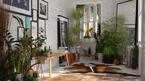 urban jungle corridor2 - by bnu