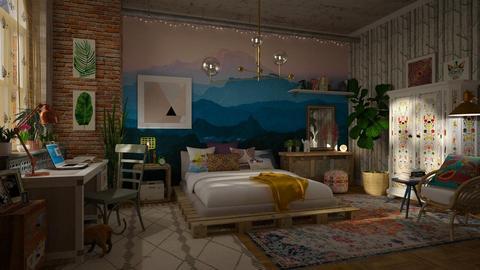 Nostalgia - Bedroom - by sativah