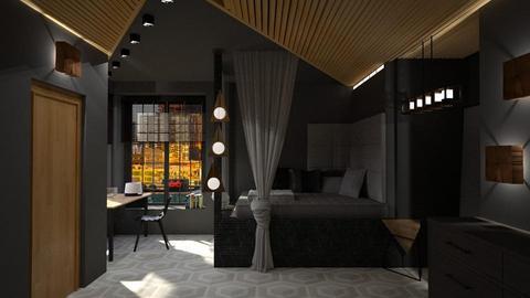 deep tones - Bedroom - by laughterlines