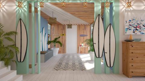 Surf hallway - by jagwas