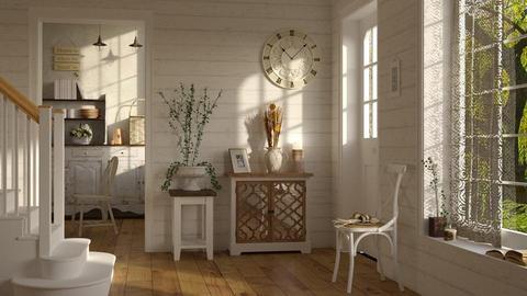 Shabby Chic Hallway - by ariema