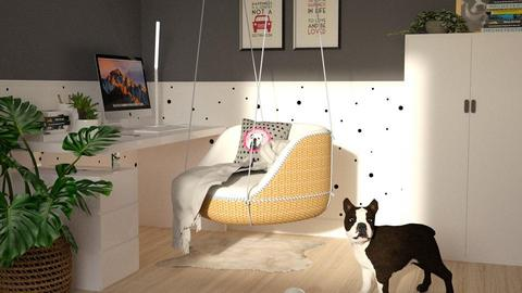 Modern Playful Office - by meggle