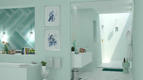 aqua shower2 - Bathroom - by bnu