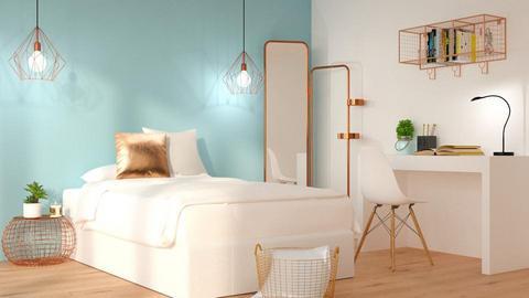 blue - Bedroom - by anjaam