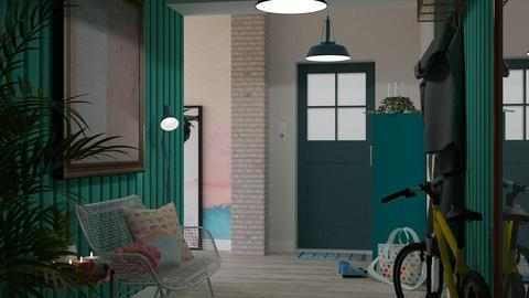 Turquoise_metal Hall - by meggle