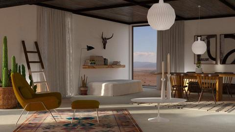 okeeffe living - Living room - by bnu