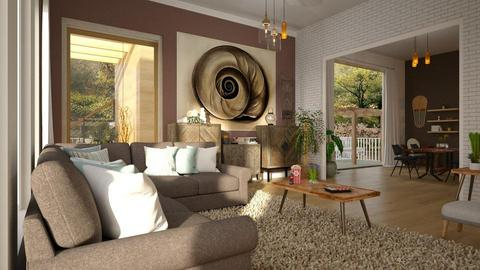OKLiving - Living room - by ZuzanaDesign