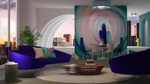 O Keffee Living - Modern - Living room  - by jagwas