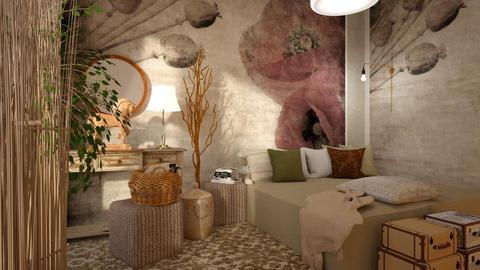 Poppy - Bedroom - by ZuzanaDesign
