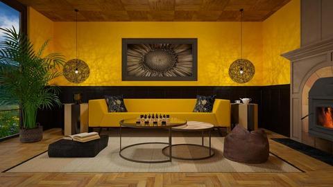 Sunflower living room - Living room  - by Studio EDesign