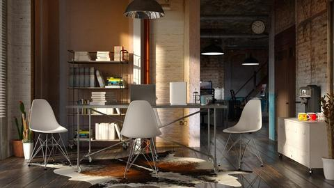 factory conversion office - by bnu