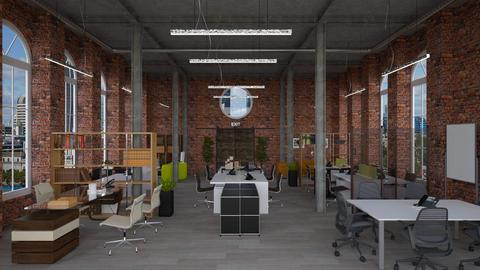 Old Factory Office - Office - by Studio EDesign