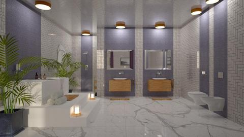 Lavender Bathroom - Bathroom  - by Studio EDesign