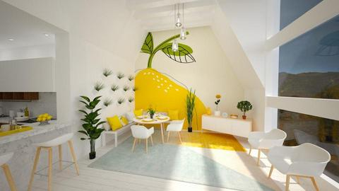 Kitchen Lemon - Modern - Kitchen - by musicdesign22