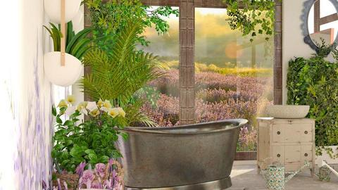 Lavender_Bath - Bathroom  - by ZuzanaDesign
