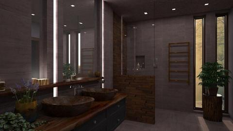 Lavender - Modern - Bathroom - by evahassing