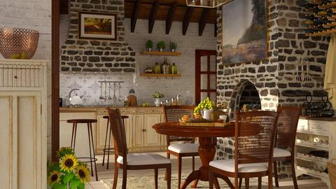 Rustic - Kitchen  - by ArtHousedeco