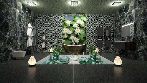Lily Pond Bathroom - Bathroom  - by Studio EDesign