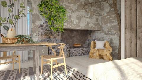 Wabi Sabi - Minimal - Living room  - by evahassing