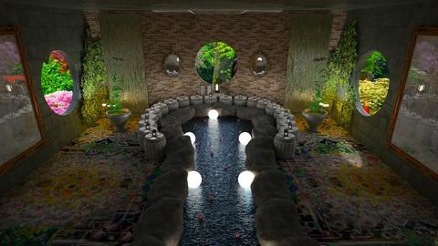 Lily Pond Bath - Bathroom  - by Gab71892