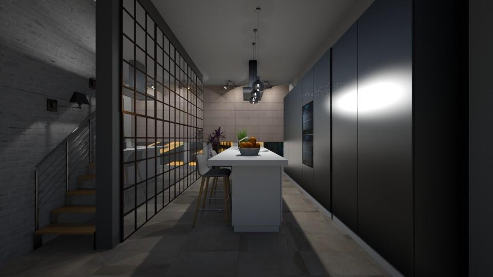 Small kitchen - by Mihailovikj Mimi